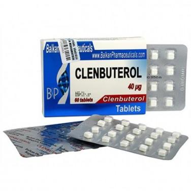 Clenbuterol Кленбутерол 40 мкг, 100 таблеток, Balkan Pharmaceuticals в Атырау