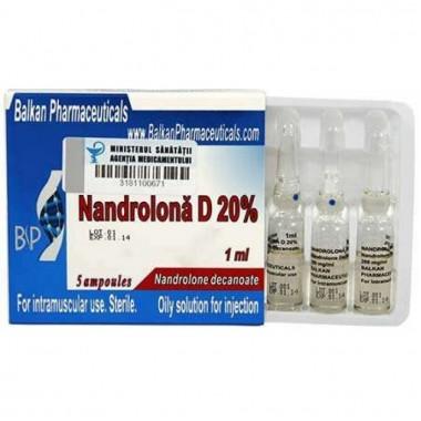 Nandrolona D 20% Нандролон Деканоат 200 мг/мл, 10 ампул, Balkan Pharmaceuticals в Атырау