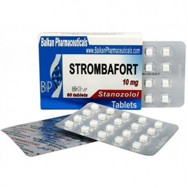 Strombafort Стромбафорт 10 мг, 100 таблеток, Balkan Pharmaceuticals в Атырау