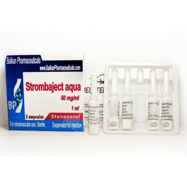 Strombaject aqua Стромбаджект аква 50 мг/мл, 10 ампул, Balkan Pharmaceuticals в Атырау