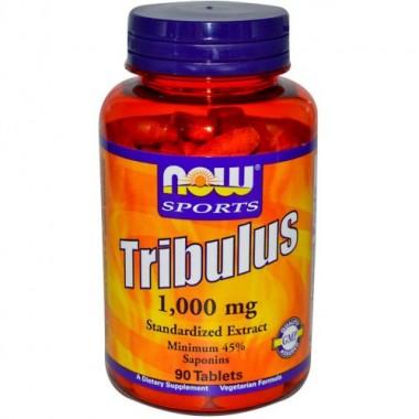 Tribulus Трибулус 1000 мг, 90 таблеток, Now Sports в Атырау
