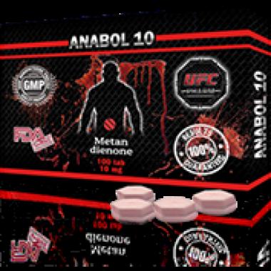 ANABOL 10 Анабол Метан Метандиенон 10 мг, 100 таблеток, UFC PHARM в Атырау