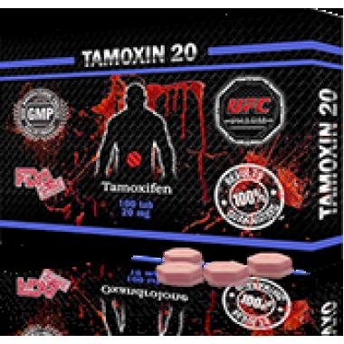 TAMOXIN 20 Тамоксифен 20 мг, 50 таблеток, UFC PHARM в Атырау