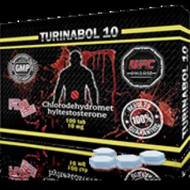 TURINABOL Туринабол 10 мг, 100 таблеток, UFC PHARM в Атырау