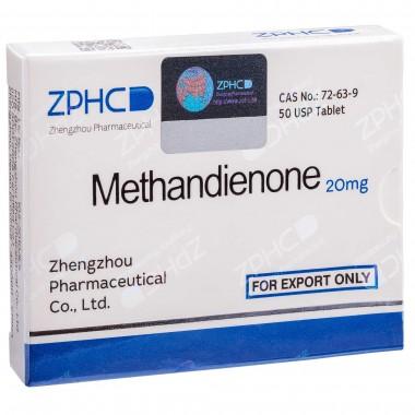 Methandienone Метандиенон 20 мг, 50 таблеток, ZPHC в Атырау