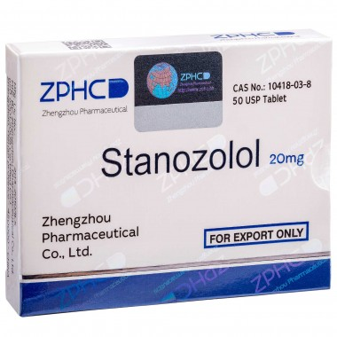Stanozolol Станозолол оральный 20 мг, 50 таблеток, ZPHC в Атырау