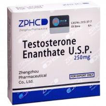 Testosterone Enathate Тестостерон Энантат 250 мг, 10 ампул, ZPHC