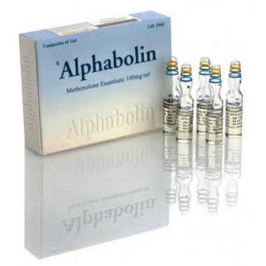Alphabolin (Метенолон) Alpha Pharma 10 ампул по 1мл (1амп 100 мг) в Атырау